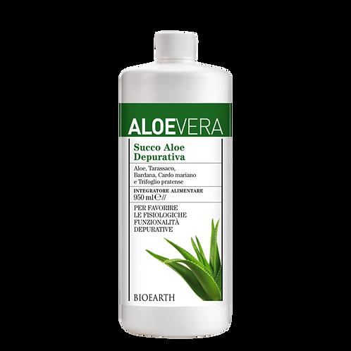 Aloe succo Puro Depurativo