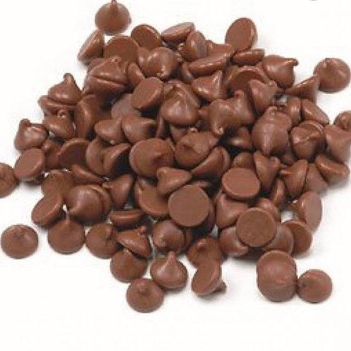 Milk chocolate drops