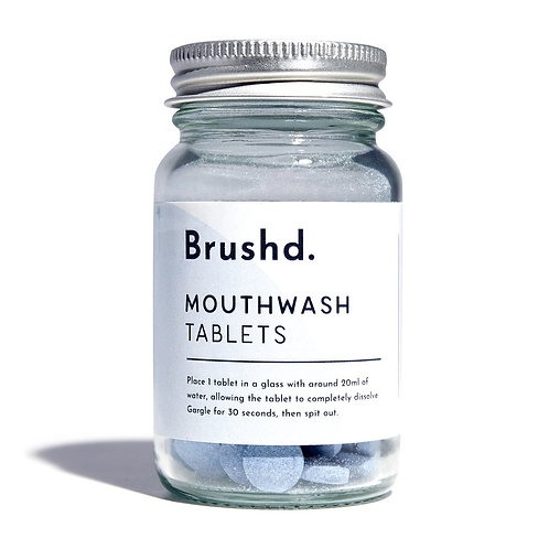 Brushd Mouthwash fluoride tablets