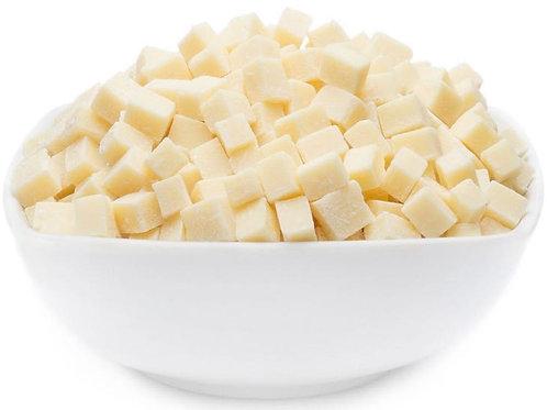 White vegan choco bites