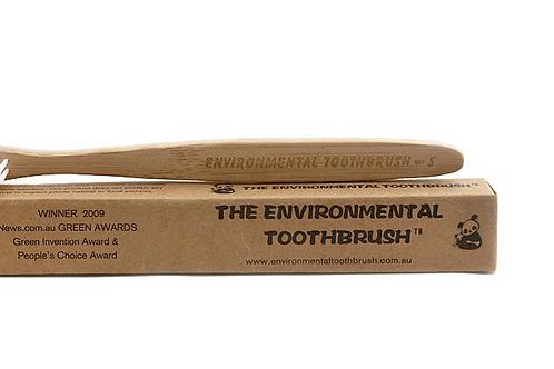 Bamboo toothbrush child
