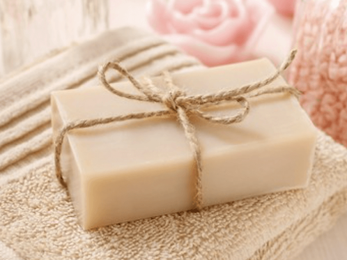 Bar of soap unscented