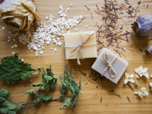 Tea tree scented soap