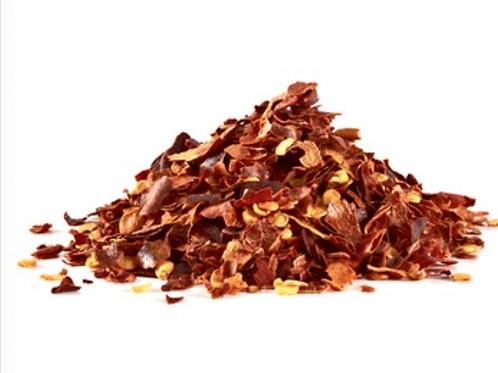 Crushed chillis
