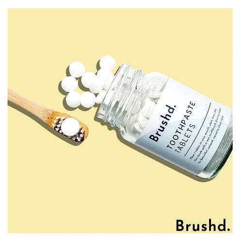 Brushd Fluoride toothpaste tablets