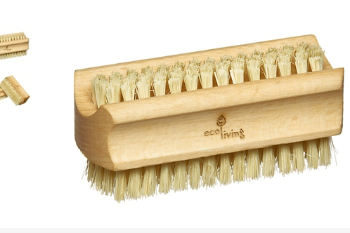 Sustainable beech woods and natural fibre nail brush