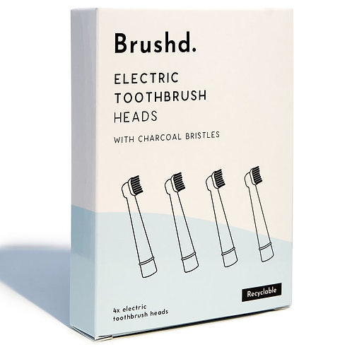 Brushd Electric toothbrush head 4