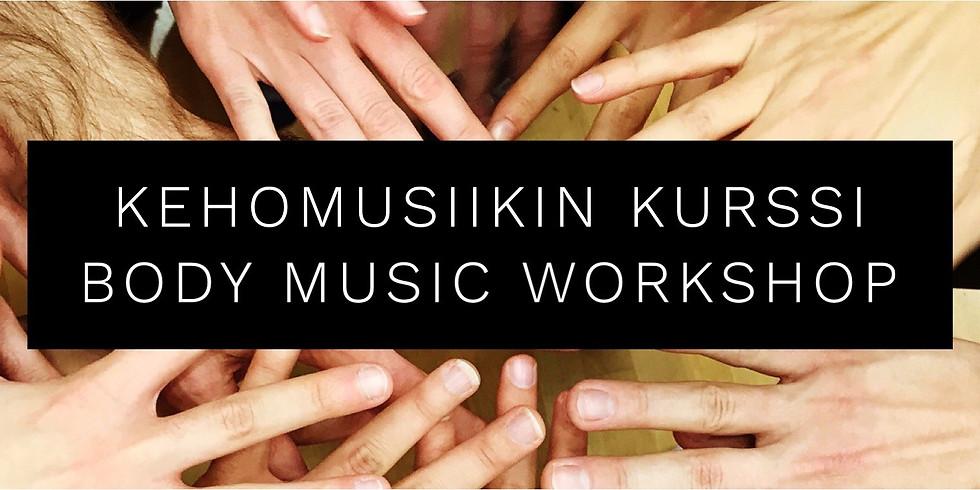 Body Music - Kehomusiikki workshop