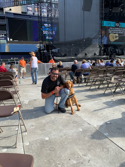 Charlee at concert
