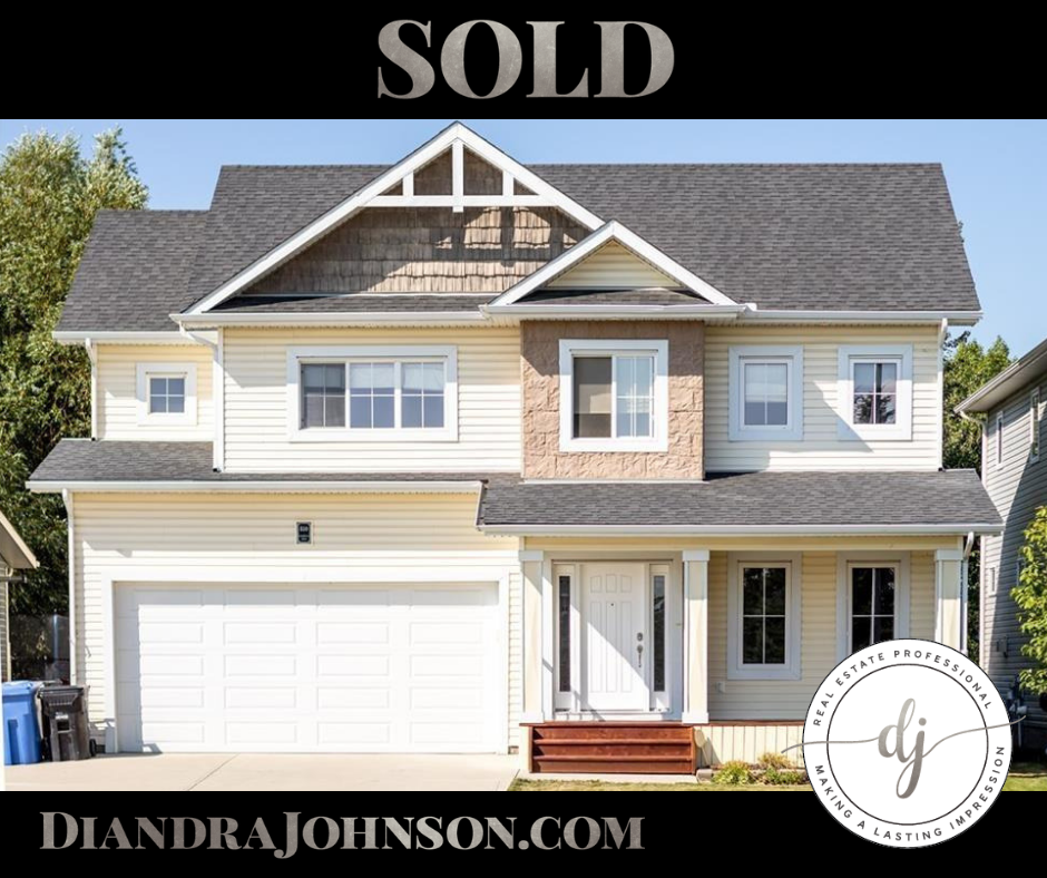 Sold in Carstairs, Diandra Johnson, Real Estate, Rural Living, Small Town Living
