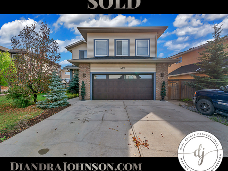 JUST SOLD: 2 Storey in Crossfield