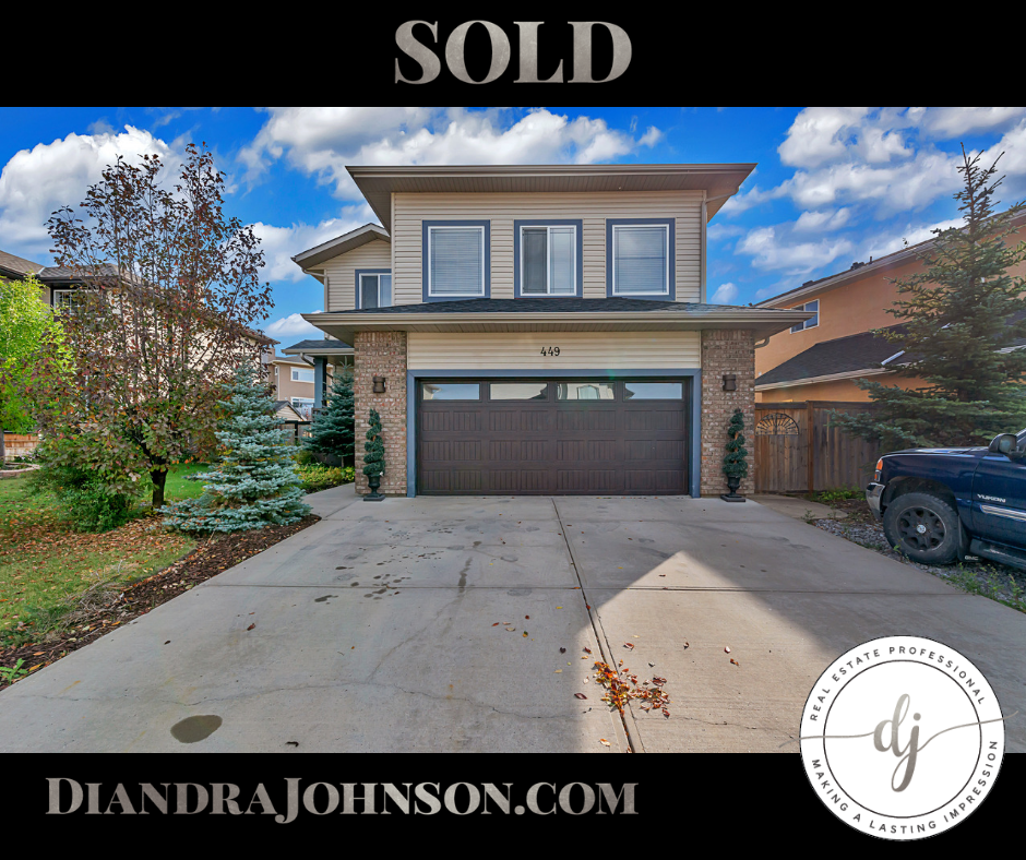 Real Estate, Sold, Crossfield
