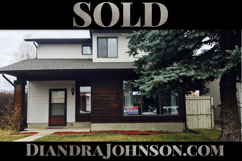 Sold, Airdrie Real Estate, Diandra Johnson