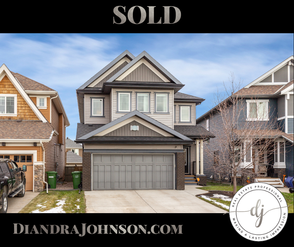 Sold, Coopers Crossing, Airdrie, Real Estate, Diandra Johnson