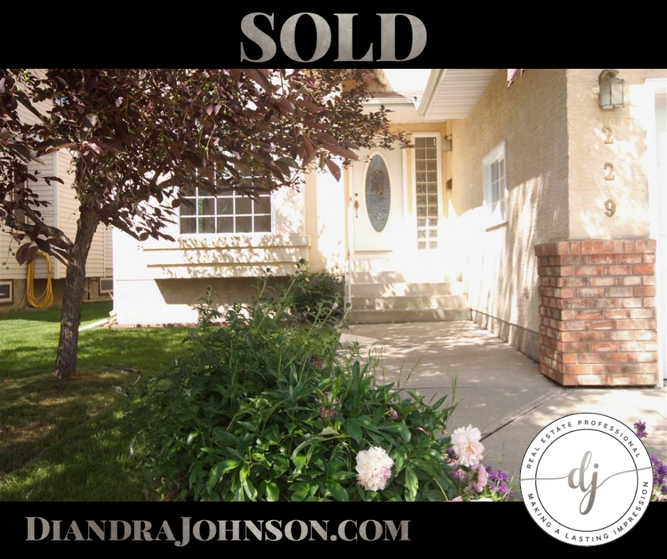 Real Estate, Diandra Johnson, Sold, Move Up Home