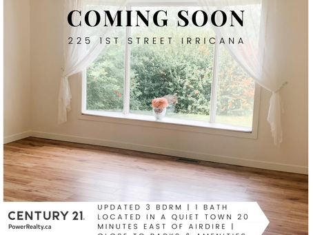 Just Listed: Mobile in Irricana