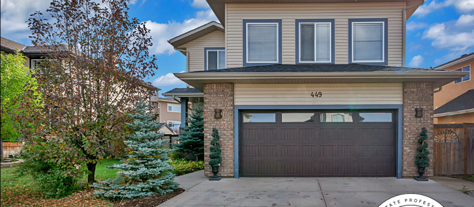 JUST LISTED: 449 Sunset Link (Crossfield)