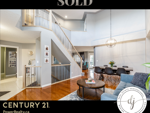 SOLD: 2 Storey Crossfield