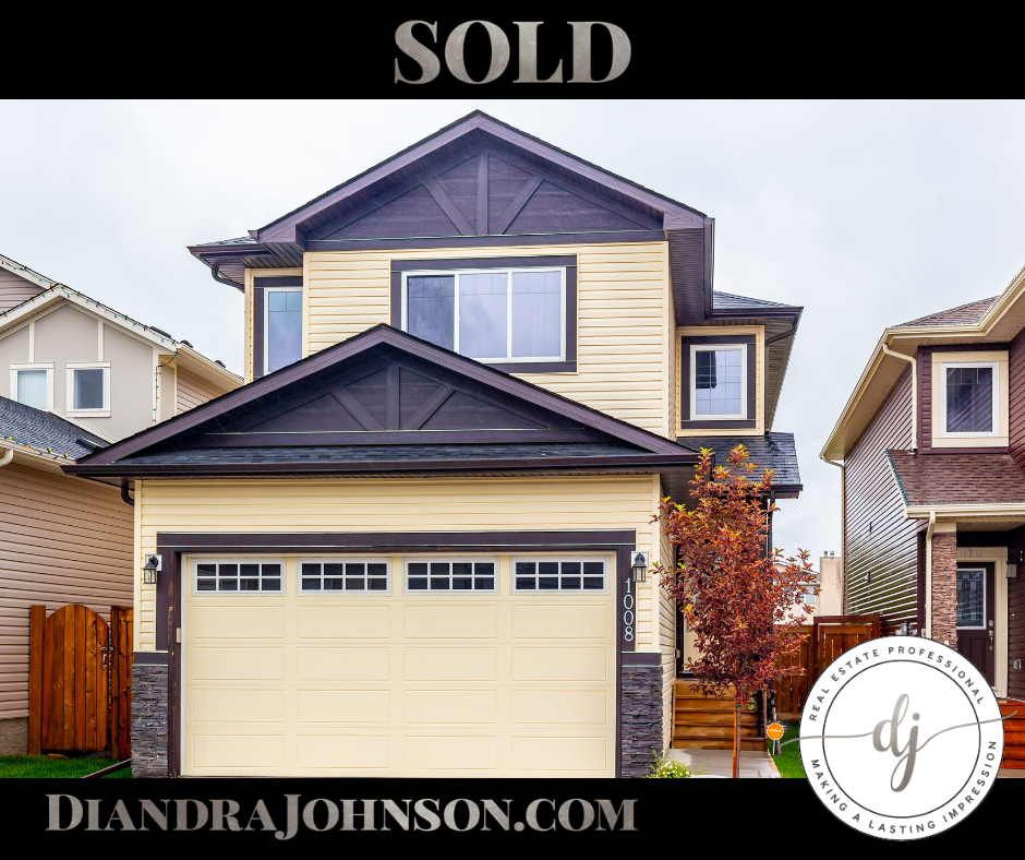 Sold, Crossfield, Real Estate, Diandra Johnson