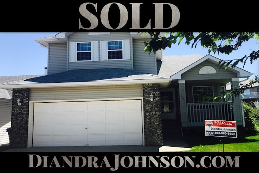 Sold, Calgary Real Estate, Diandra Johnson