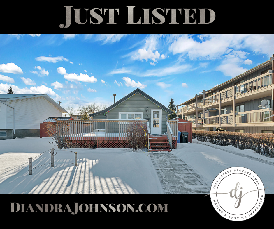 Just Listed, Carstairs Real Estate, Bungalow