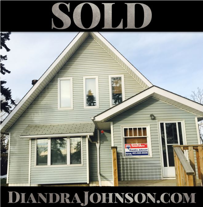 Sold, Crossfield Real Estate, Diandra Johnson