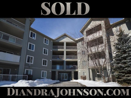 SOLD: Condo in Airdrie