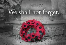 We shall not forget.