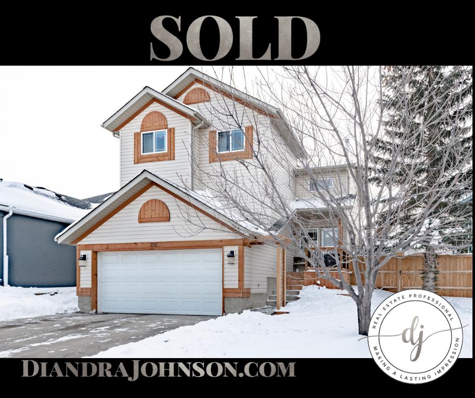 Calgary Real Estate, Diandra Johnson, Sold