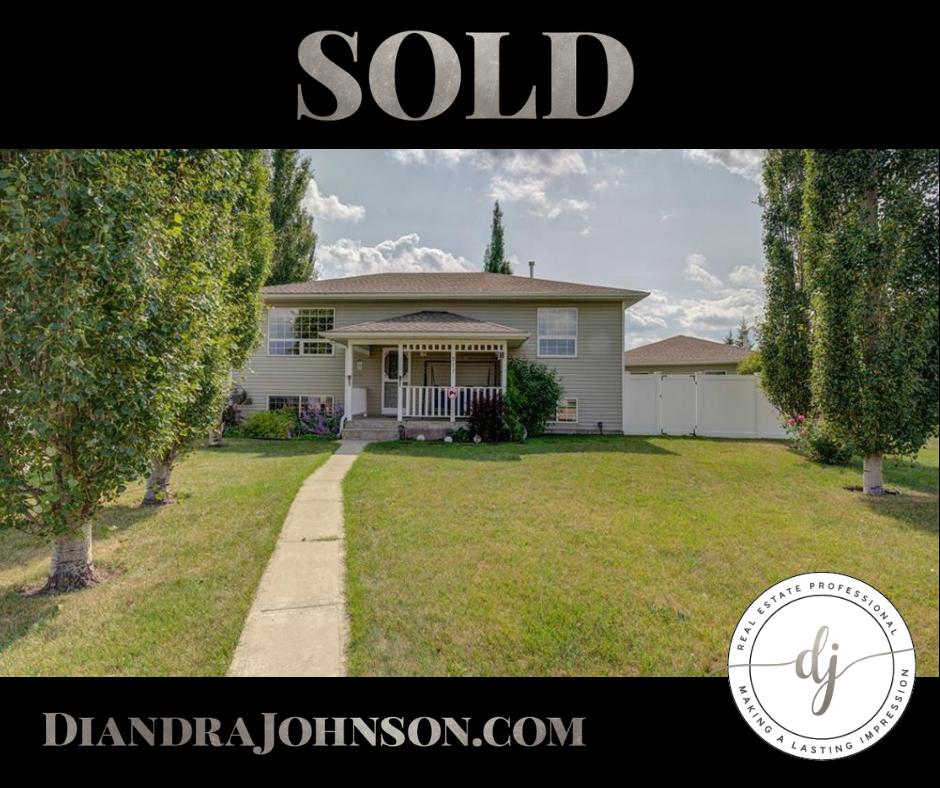 Sold, Real Estate, Crossfield Realtor, Diandra Johnson