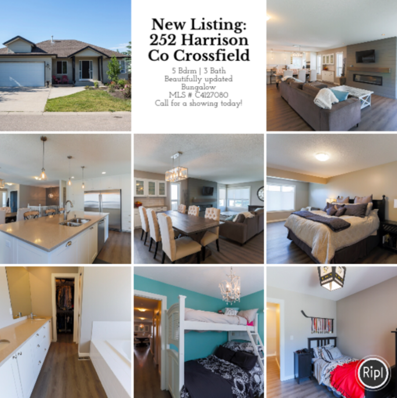 Crossfield Real Estate, Bungalow for Sale, Diandra Johnson, Crossfield Listing
