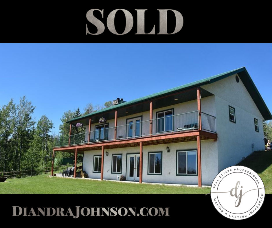 Sold, Diandra Johnson, Crossfield Realtor, Real Estate