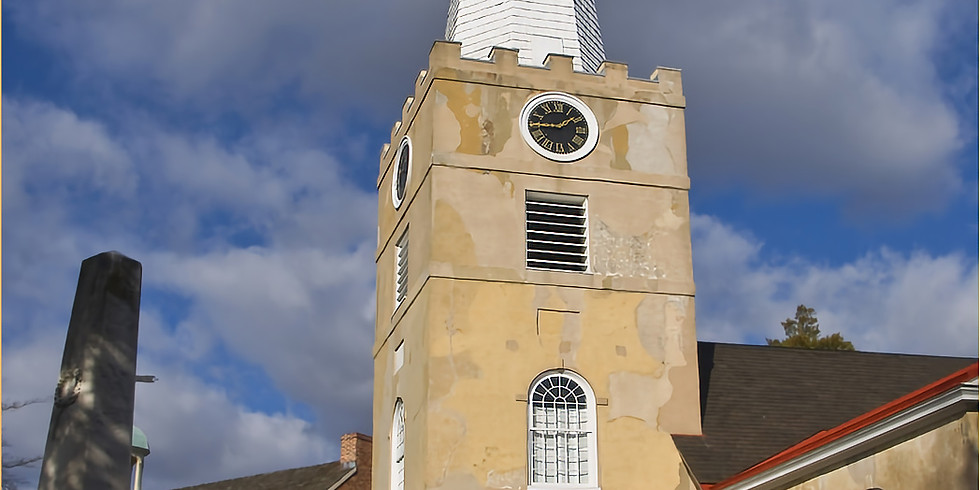 Bell Ringing Ceremony at Presbyterian Church in historic New Castle (LH and A&E)