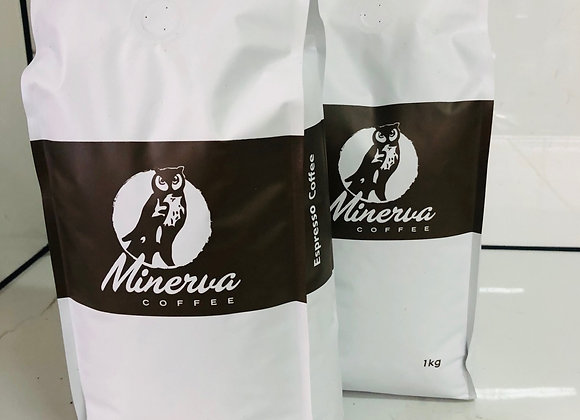 Minerva Coffee Beans 1kg Bags