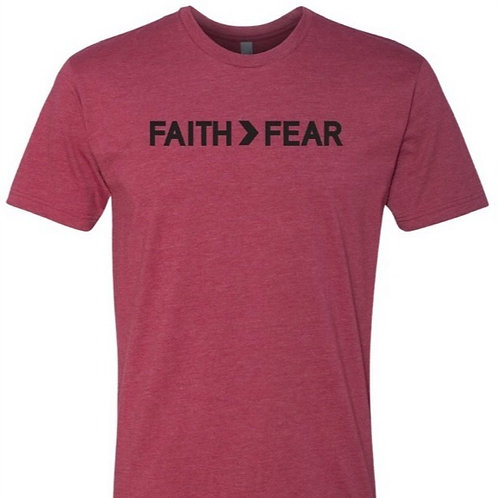 Faith Greater Than Fear Men's