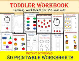 Toddler Workbook