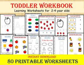 Toddler Workbook