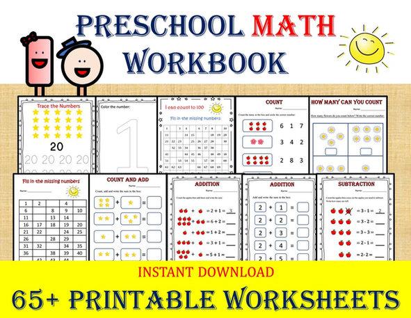 Preschool MATH book