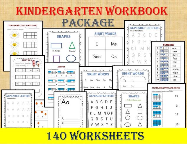 Kindergarten Workbook