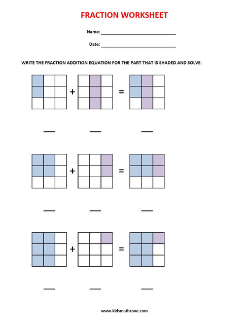 FRACTION SIMPLE ADDITION