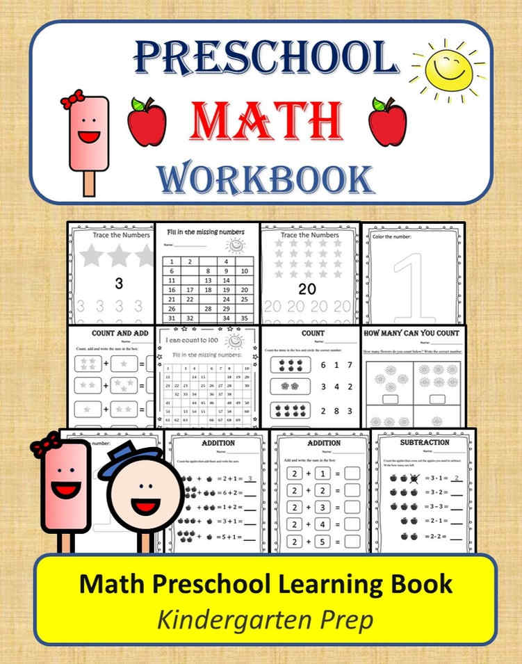 Preschool Math Workbook