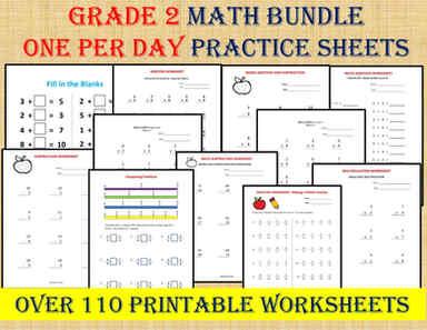 Grade 2 Math Worksheets