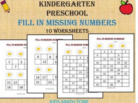 Kindergarten and Preschool Worksheets