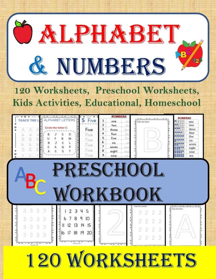 Alphabet & Numbers Workbook