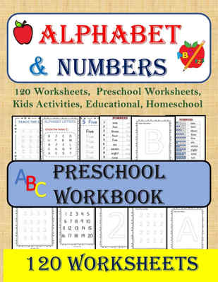 Alphabet and Numbers worksheets
