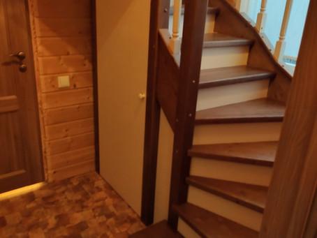 Лестница в ограниченном пространстве