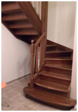 Лестница с пригласительными ступеням