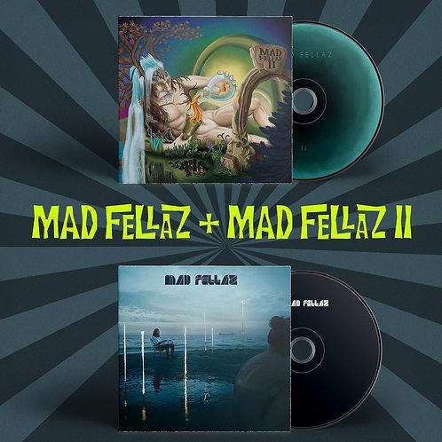 "2 CD Digipak ""Mad Fellaz""+ ""Mad Fellaz II"""