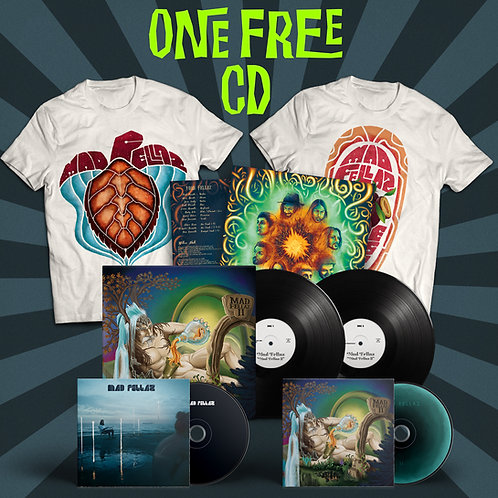 "2LP Vinyl ""Mad Fellaz II"" + T-Shirt + 1 FREE Digipak"