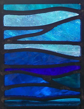 Huntly, Aberdeenshire, Scotland, Stained glass